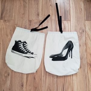 Shoe dust bags (pair)